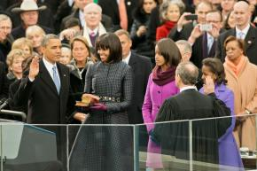 Inauguration: Obama makes history again