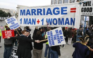 Gay marriage will be reviewed by the Supreme Court on March 27, 2013. (image courtesy of blackchristiannews.com)