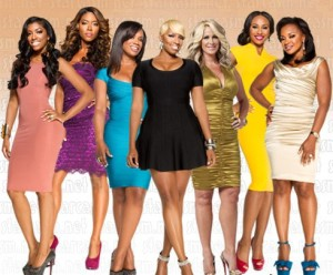 'The Real Housewives of Atlanta,' NeNe Leaks, Kandi Burrus, Kenya Moore, Cynthia Bailey, Phaedra Park and Porsha Stewart may encourage derogatory stereotypes for black women in today's society. (Image from rollingout.com)