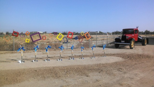 The new Art Center breaks ground Saturday, April 27 during Celebrate CSUB. (Image from CSUB's Facebook Page)