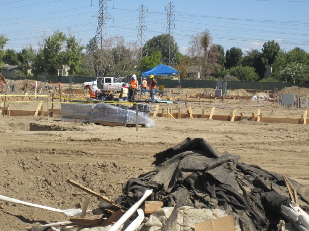 Tara Baraceros/The Runner CSUB's new dorms are expected to be completed by Jan. 2015. They are expected to house 500 students initially and 1,500 by full completion.