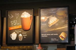Starbucks offers a wide variety of pumpkin spice flavored drinks and treats to satisfy autumn taste buds.