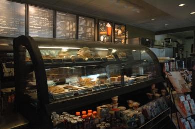 Juana Martinez/The Runner Starbucks' baked goodies on display for hungry customers.