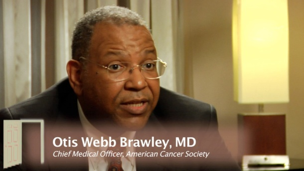 Image from thegrouproom.tv Dr. Brawley's lecture will address social inequalities and provide perspectives on health care.