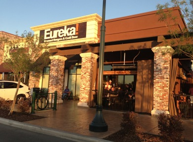 Image by Playingbakersfield.wordpress.com Eureka! Gourmet Burgers & Craft Beer new twists on the usual burger