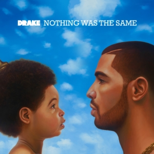 Image by fansided.com Drake's 'Nothing Was The Same' album cover depicts him as a child gazing at his adult self.