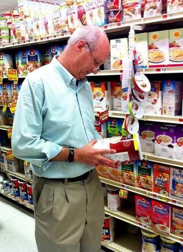 Photo from www.linkedin.com CEO of Panera Bread, Ron Shaich, documents his SNAP Challenge shopping experience.