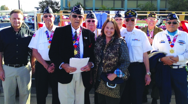 Myra Maldonado/The Runner Veterans gather during the wounded warrior award event
