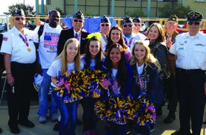 CSUB Spirit Squad honors veterans