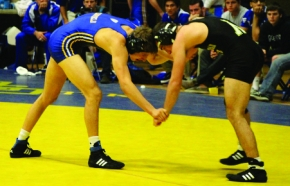 'Runner wrestling wins first tri-meet of the season