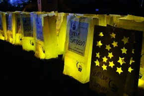 Opening day at the 23rd annual Relay for Life