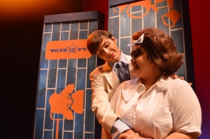 Eric Garza/The Runner From left to right, Robert Corona played Link Larkin and Norma Camorlinga played Tracy Turnblad.