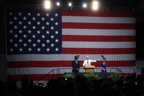 VP Biden headlines politicalrally